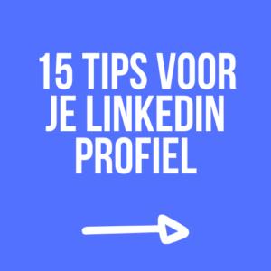 Tips voor een professioneel LinkedIn Profiel